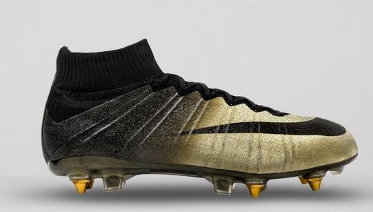 New Gold black Ballon d'or boots of Ronaldo