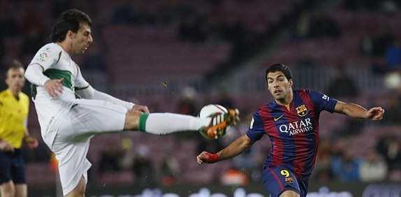 Watch video highlights of Barcelona vs Elche 5-0 match