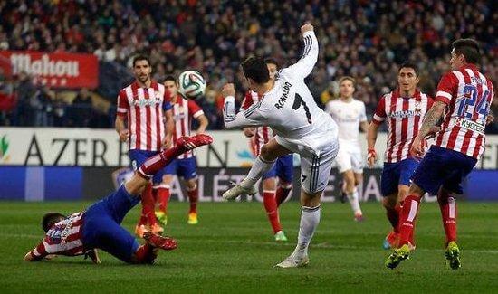 Atletico Madrid vs Real Madrid 7 feb 2015 La Liga