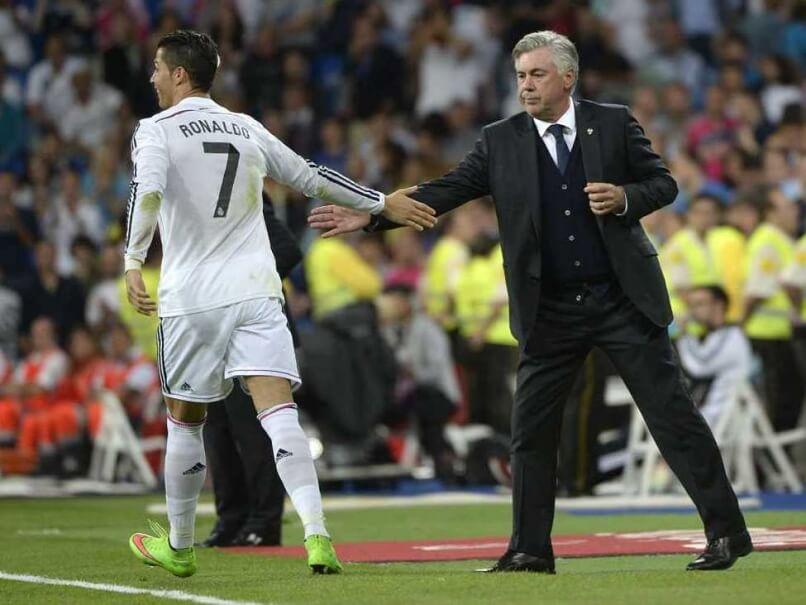 Carlo Ancelotti on Cristiano Ronaldo