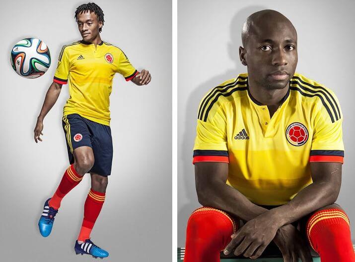 Colombia 2015 Copa America Kits