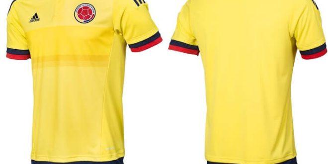Colombia 2015 Copa America home jersey