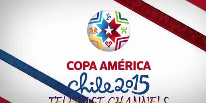 Copa America 2015 telecast channels Worldwide