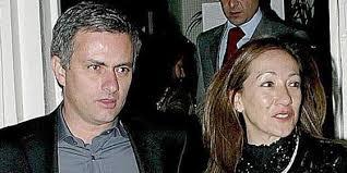 Jose Mourinho with Matilde Faria