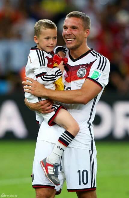 Louis, Son of Lukas Podolski