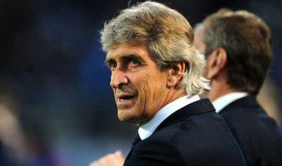 Manuel Pellegrini Manchester City