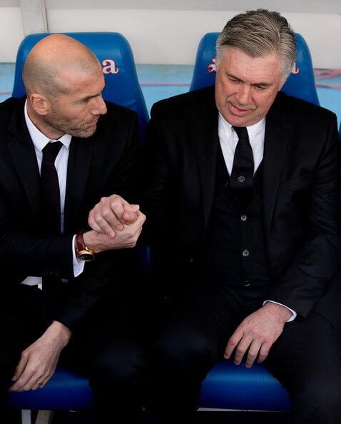 Zidane Ancelotti s con...