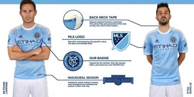 Buy New York City FC jersey online