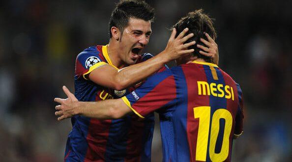 David Villa Barcelona