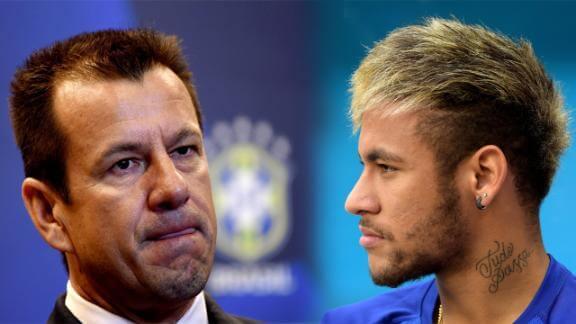 Dunga said Brazil have only Neymar