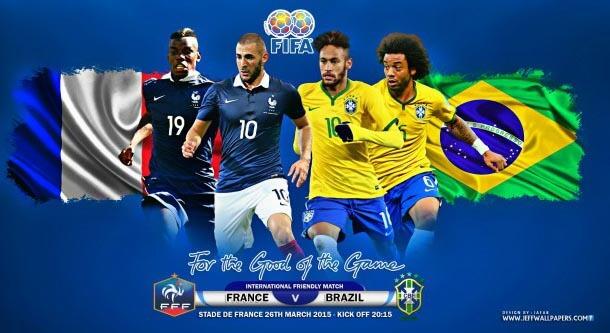 France VS Brazil Friendly match schedule