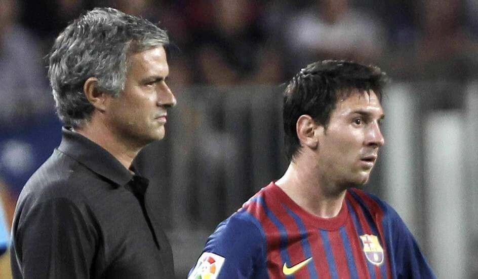 Jose Mourinho on Messi transfer