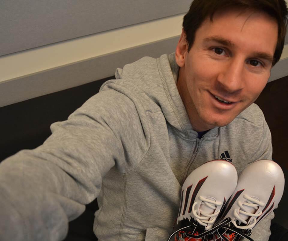 Lionel Messi Addias Pibe De Barr10 boots