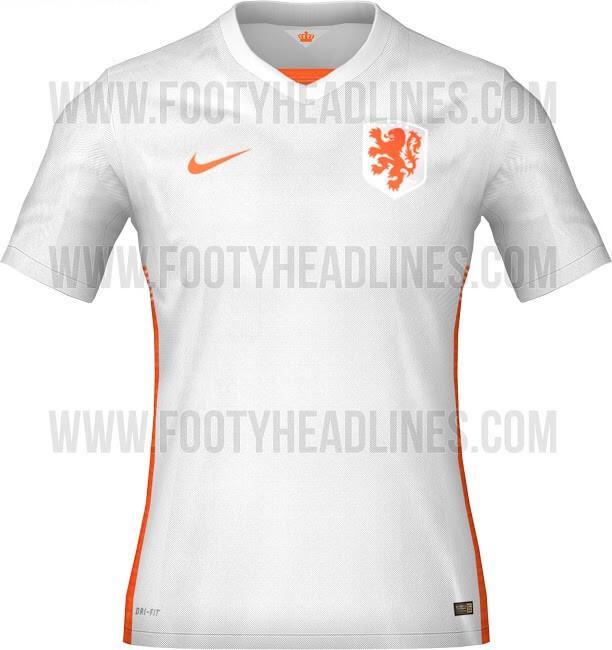 Netherlands 2015 away jersey