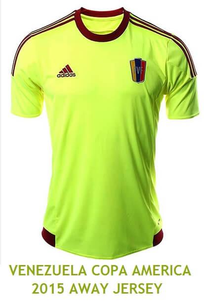 Venezuela Copa America 2015 away jersey