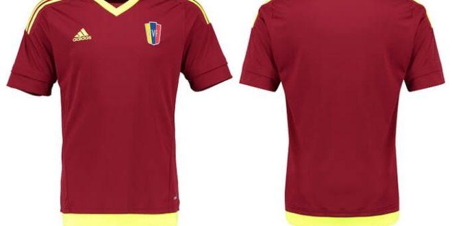 Venezuela Copa America 2015 home jersey