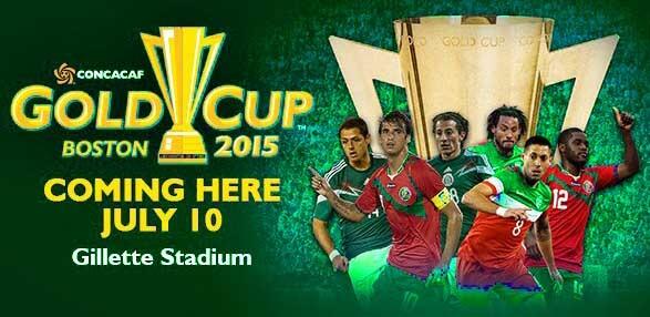 2015 Gold Cup teams
