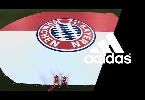 Adidas Kit deal with Bayern Munich
