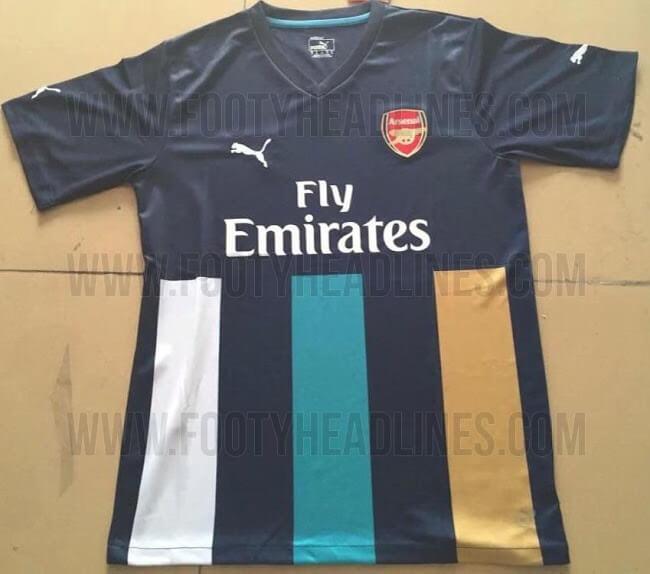 Arsenal 205-16 third jersey