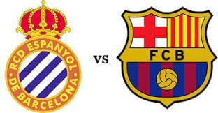 Espanyol VS Barcelona ist time