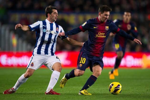 Espanyol VS Barcelona telecast in India