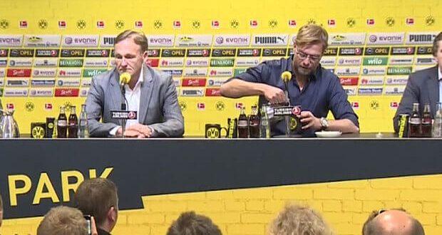 Jurgen Klopp quits Borussia Dortmund