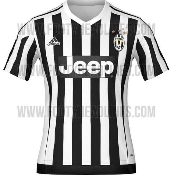 Juventus 2015-16 home jersey