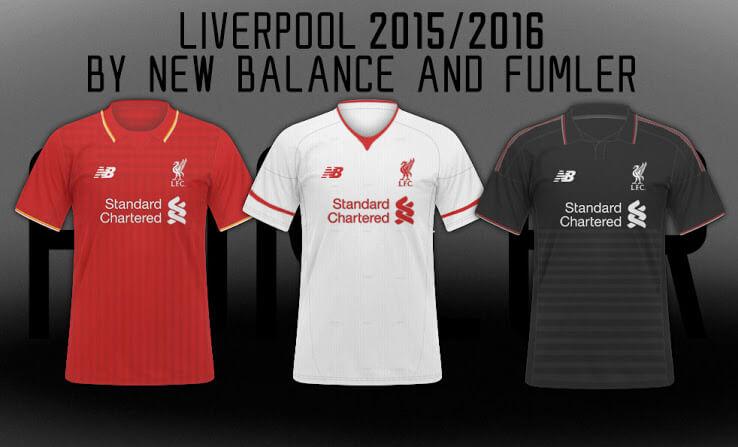 Liverpool 2015-16 kits
