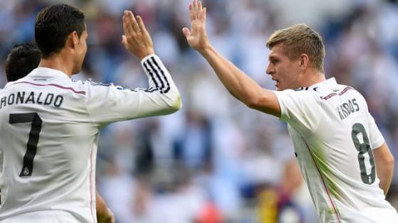 Toni Kroos speaks about Cristiano Ronaldo