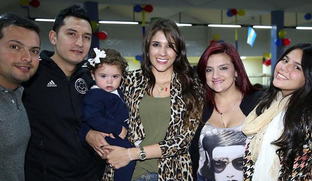 images of Daniela Ospina famliy