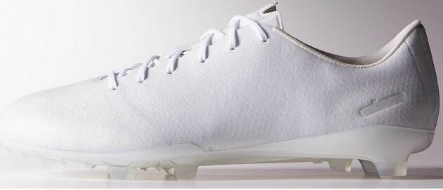 White Adidas Adizero F50 No Dye Football Boots Unveiled