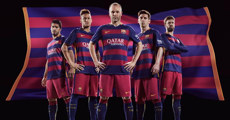 Barcelona 2015-16 Kits