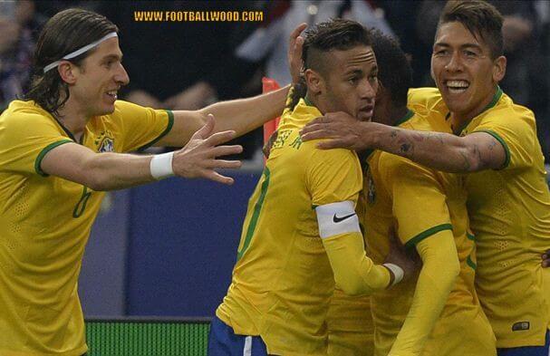 Brazil Team Squad For Copa America 2015 Football