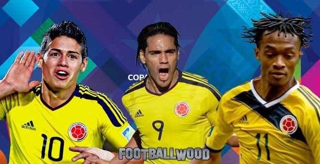 Colombia team squad for 2015 Copa America