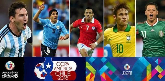 Copa America 2015 schedule eastern time