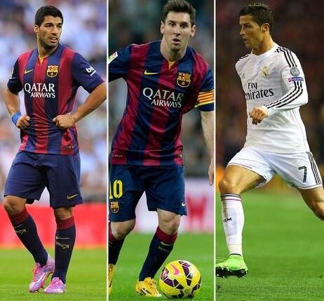 La Liga 2014-15 best 11