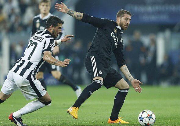 Sergio Ramos said he played poorly against Juventus