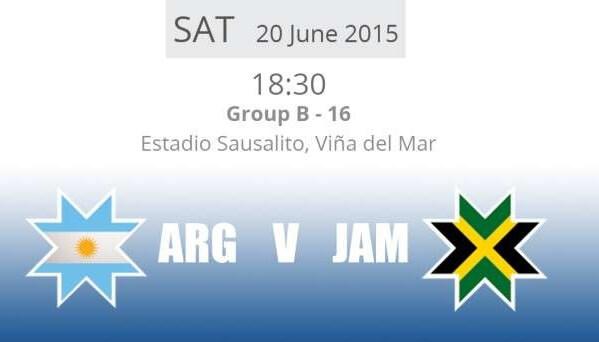 Argentina vs Jamaica Free Live Streaming 2015 Copa America