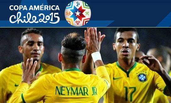 Brazil vs Peru 2015 Copa America