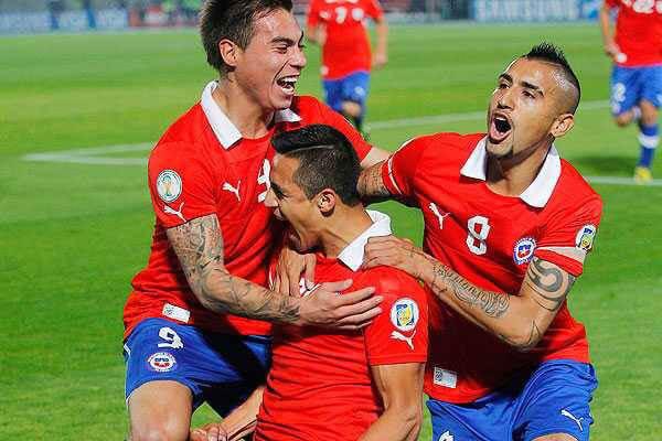 Chile Vs Peru 2-1 Video Highlights Copa America 2015