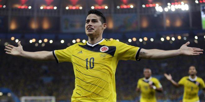 James Rodriguez Copa America 2015 Wallpapers