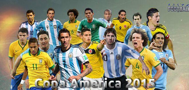 Copa America 2015 Facebook G+ Covers