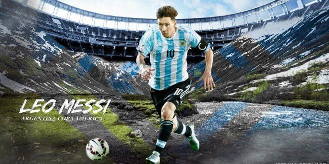 Lionel Messi 2015 Copa America Wallpapers