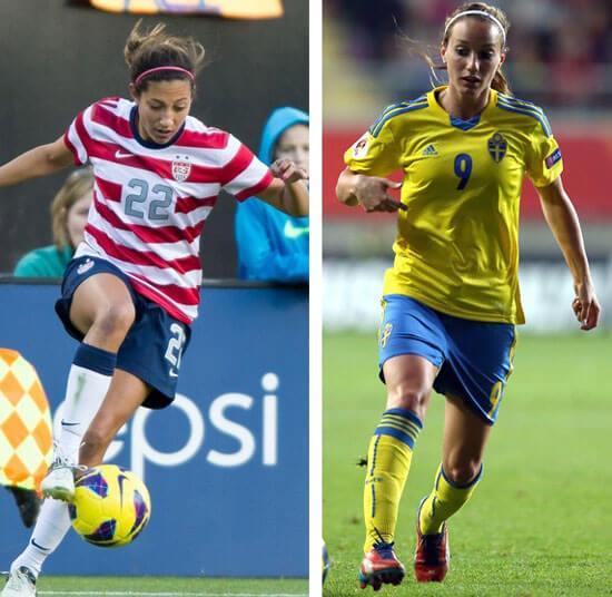 USA vs Sweden 2015 Women World Cup