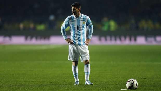 Argentina Vs Paraguay Semi Final Match Photos