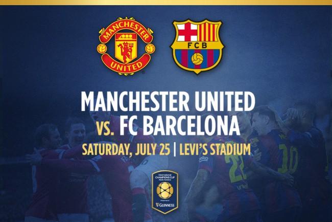 Barcelona vs Man United IST Time