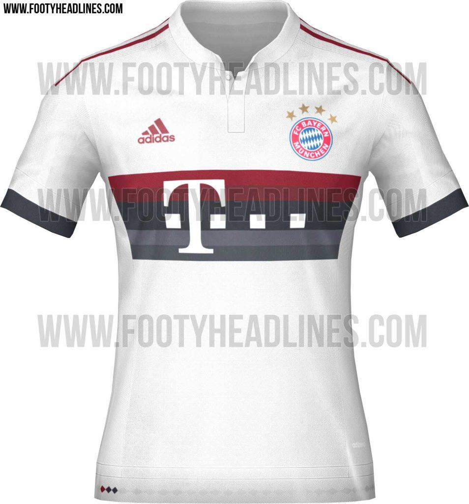 Bayern Munich 2015-16 Away Jersey