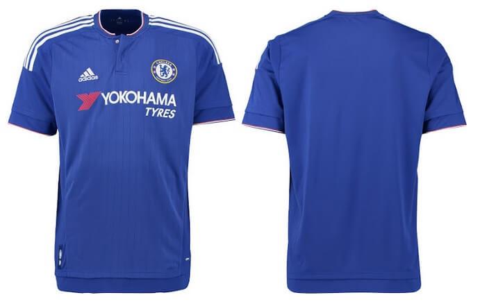 Chelsea 2015-16 Home Kits
