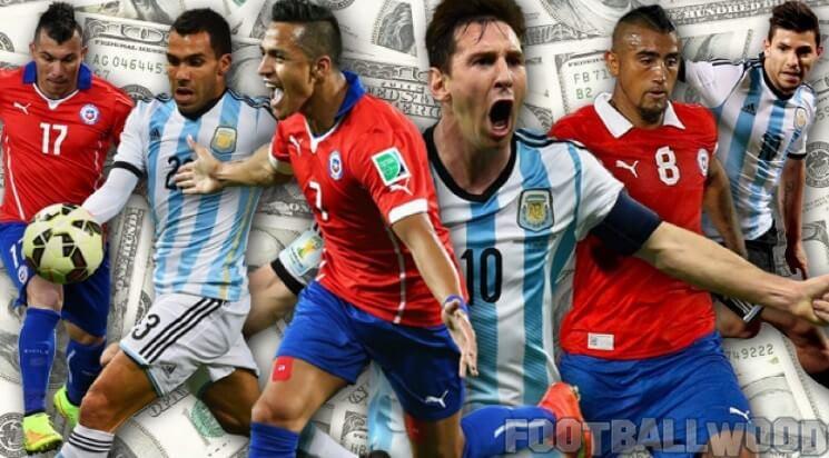 Chile vs Argentina telecast in India
