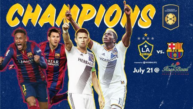 LA Galaxy vs Barcelona live streaming